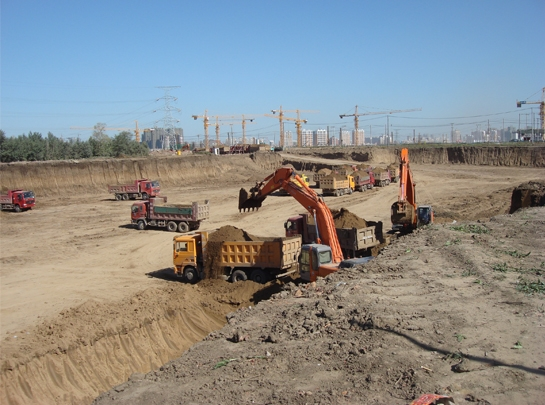 哈西公路客运站土方工程