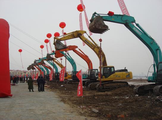 哈尔滨工程机械租赁