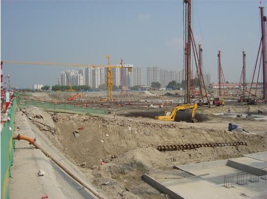 哈尔滨基坑支护工程