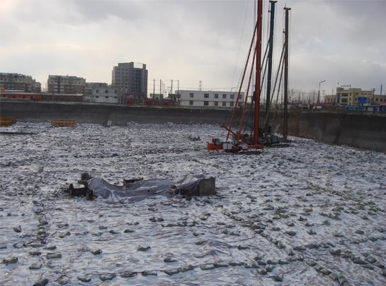 哈尔滨场地平整工程